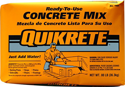 Concrete/Mortar/Sand Mixes